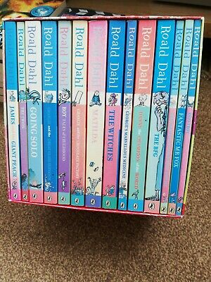 Roald Dahl Phizz Whizzing Collection -boxed set of 15 Books RRP £93.85
