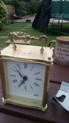 Smiths astral carriage clock need repair good order