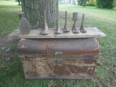 6 Antique Cobblers shoe last Lasts Cobbler Shoe Repair Cast Iron Vintage Display