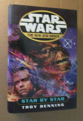 Star Wars New Jedi Order, Star By Star, Hardcover 1st Edition