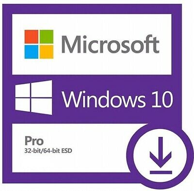 Instant Genuine Windows 10 Professional Pro Activation Code Key ✔️