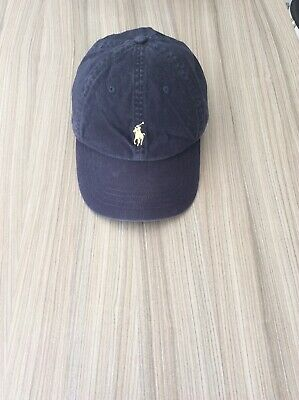 Ralph Lauren Polo Casual Navy Blue Baseball Cap Embroidered summer ONE SIZE