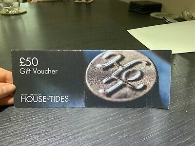 £50 gift voucher House of tides kenny Atkinson Restaurant Newcastle Michelin 🌟