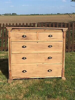 antique large chest of drawers