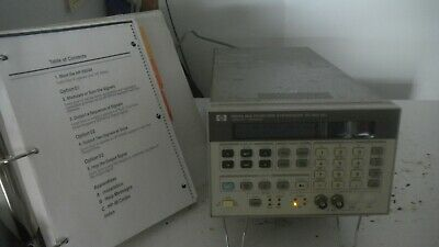 HP 8904A Synthesizer with handbook