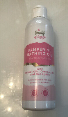The Beauty Of Eczema Pamper Me Bathing Oil,200ml, New