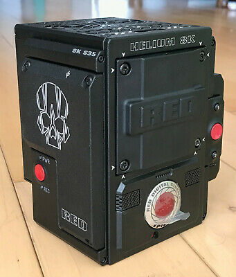RED Epic-W Helium 8K Camera Body. NEW WITH ONLY 1 HOUR USAGE!