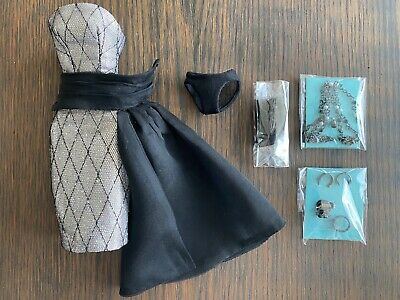 Silver Poppy Parker Split Decision New Full Outfit Fashion Royalty IT Xtra Jwlry