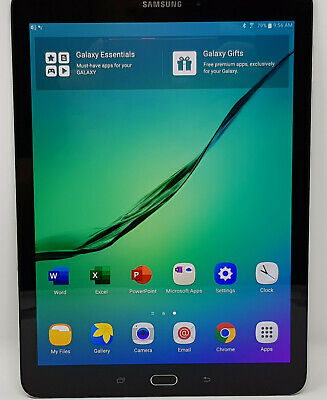 "Pre-owned~Samsung Galaxy Tab S2 9.7"" Tablet 64GB Android - Black XJ-LPZL369960"