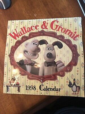 Wallace And Gromit 1998 Calendar Still Sealed