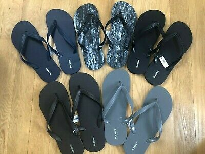 OLD NAVY Classic Flip-Flops Thong Sandals MEN/'s sizes 10//11 multi colors NWT
