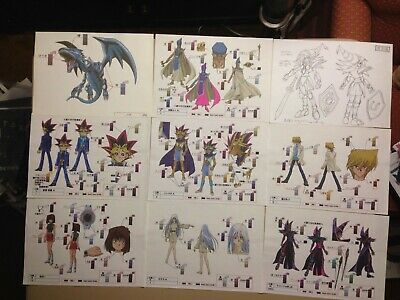 Yu-Gi-Oh! Duel Monsters Settei Sheets (Rare colored sheets)