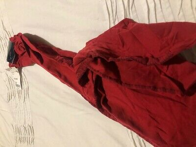 Girls Age 10 Red Burberry Tights Tagged £22.00, 100% Authentic