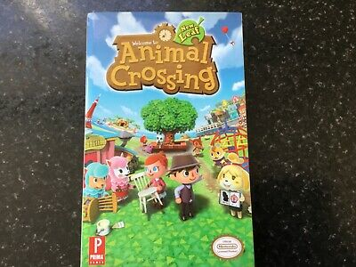 Animal Crossing New Leaf Prima's Official Game Guide Strategy Book VERY RARE