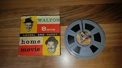 Laurel and hardy home movie 8 mm film spool