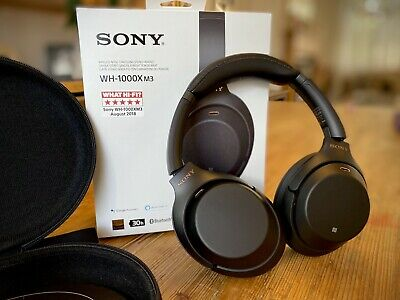Sony WH-1000XM3 Wireless Noise Cancelling Headphones with NFC - Mint Condition