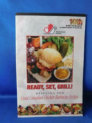 Ready Set Grill Great Canadian Chicken Barbecue Recipes Cook Booklet Advertising