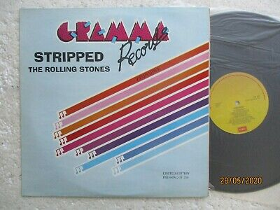 THE ROLLING STONES - Stripped - Rare Zimbabwe & Ltd release LP/ 250 Copies only
