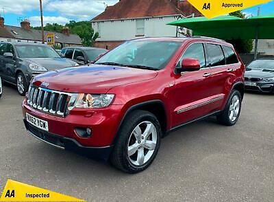 Jeep Grand Cherokee 3.0 CRD V6 Overland 4x4 5dr ## FREE NATIONWIDE DELIVERY##