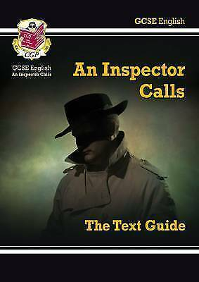 Grade 9-1 GCSE English Text Guide - An Inspector Calls... by CGP Books Paperback