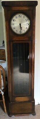Antique Longcase Pendulum Grandfather Clock with full Westminster Chime
