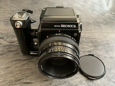 Zenza Bronica Sq-B With 80mm F/2.8 Lens
