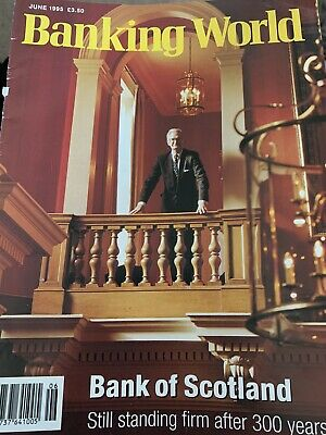Banking World Finance Magazine - June 1995 Institute Of Bankers Bank Of Scotland
