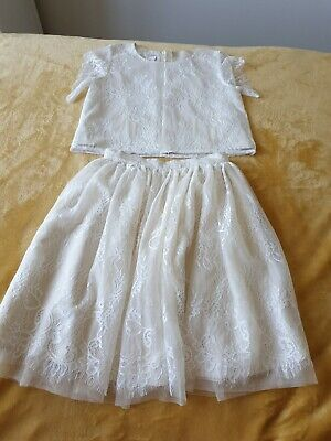 Excellent Condition Girls Monsoon Outfit Age 8