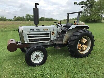 White 2-45 Diesel Farm Tractor Low Hours