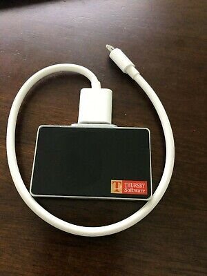 Thursby PKard Reader Smart Card Reader with Lightning Connector and extension