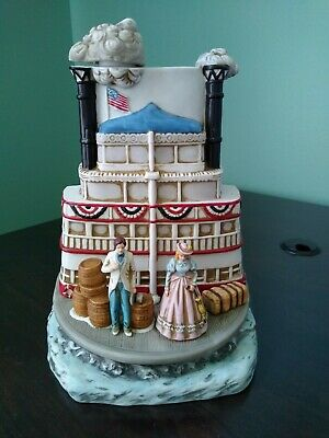 Jim Beam Decanter, Riverboat 25th Annual Convention 1995, Signed by Artist