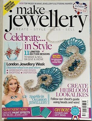 Make Jewellery Magazine. Issue 38. Jubilee Special. June 2012