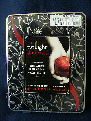 The Twilight Journals - Four Keepsake Journals in a Collectible Tin - 2009 - NIB
