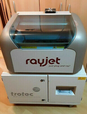 TROTEC RAYJET LASER ENGRAVER MACHINE 30w with filter