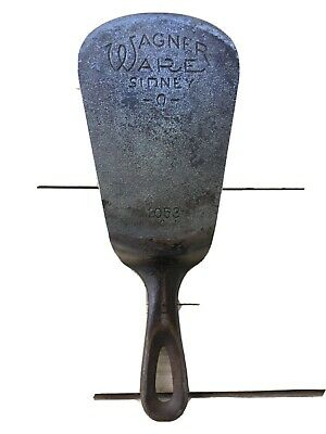 Wagner Ware Cast Iron Spatula Made From A  #3 Skillet