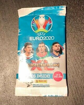 Panini UEFA Euro 2020 Adrenalyn XL Cards 10 sealed Packs + Ltd Edition Rrp  £17