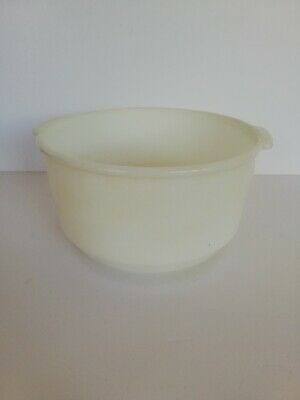 Vintage Retro Pyrex White Glass Mixing Bowl Sunbeam Good Condition