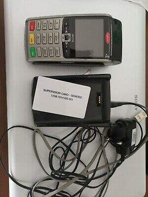 INGENICO IWL250 Chip & Pin Card Terminal Wireless with charging dock