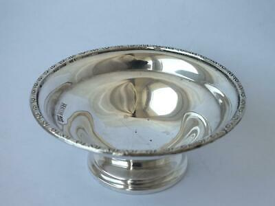 Solid Sterling Silver Nuts Dish 1971/ Dia 8.5 cm/ 51 g