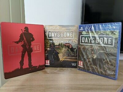 Days Gone with Steelbook (SEALED) PS4