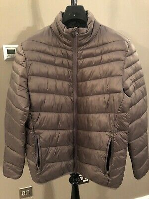 Mens Next Quilted Puffer Jacket Lightweight Padded Coat Size M