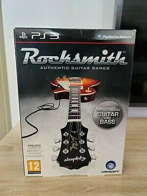 Rocksmith PS3 with Realtone cable