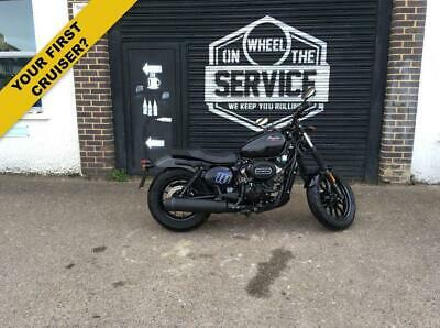 2019 68 Hyosung Aquila 125 - ***Only 335 Miles From New!***