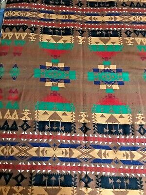 Colorful Vintage Wool Trade Blanket Probably Jacobs Oregon City Pre 1932
