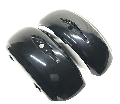 Indian Motorcycle OEM Saddlebag Lids Black Gloss Left & Right Pair Covers
