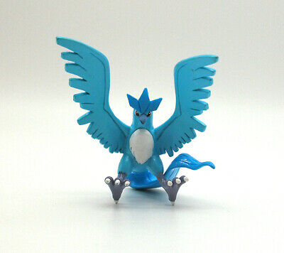 """Pokemon Tomy Articuno 2"""" action figure toy Japan moncolle"""