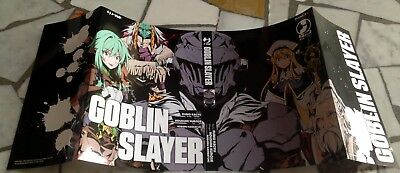 GOBLIN SLAYER COVER VARIANT NERA - JPOP  NUOVO MANGA BERSERK ONE PIECE..Limited