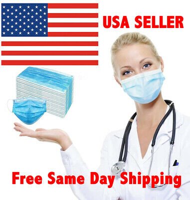 [SHIP FROM USA] Protective Face Mask (10 20 30 50 Pieces) Fast Free Shipping