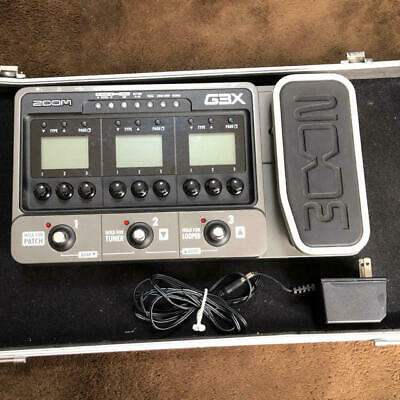 Zoom G3X Multi-Effects Guitar Effect Pedal Tested Working Good, ship by DHL