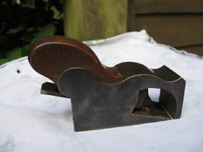 Antique CAST IRON BULLNOSE PLANE.PRESTON/W.MARPLES.'A.SALTER'.Collectable Tool.